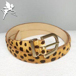 NEW Talbots leopard belt